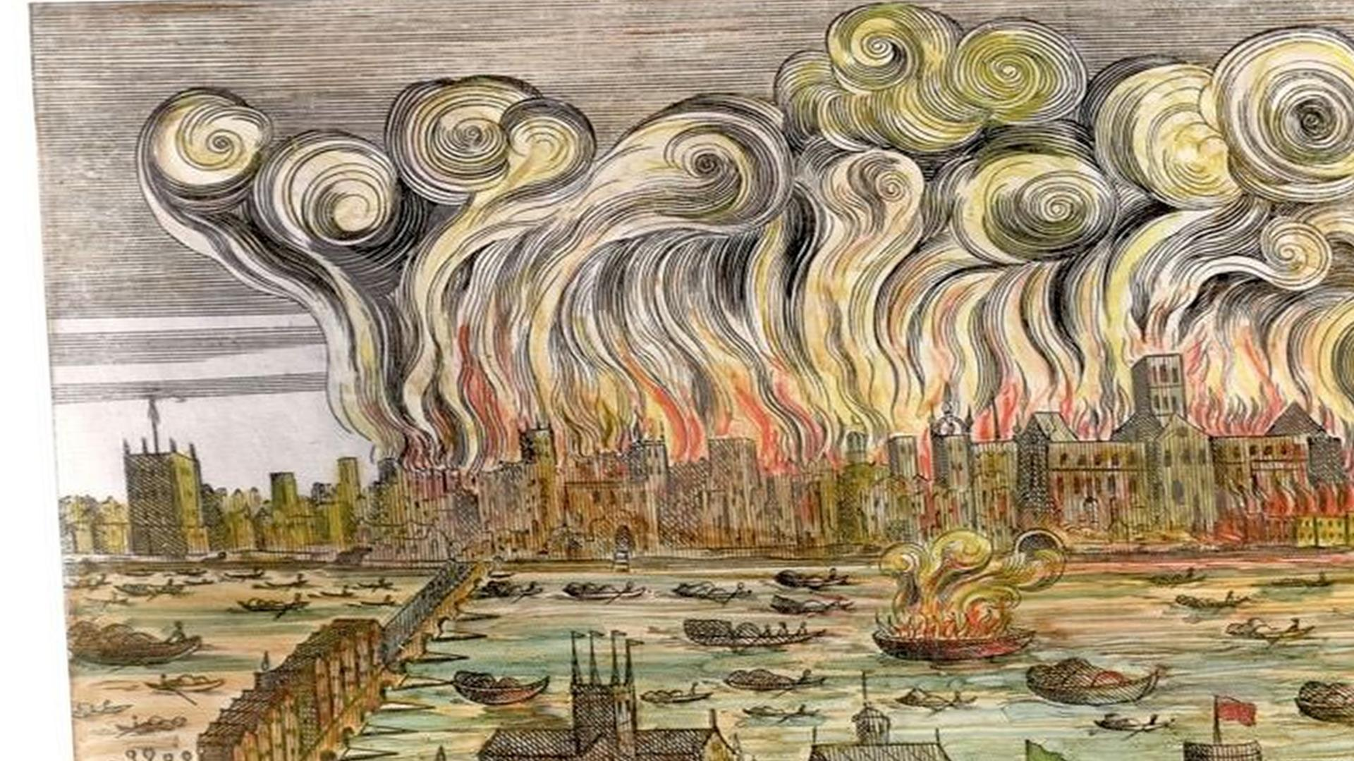 The Great Fire Of London Facts